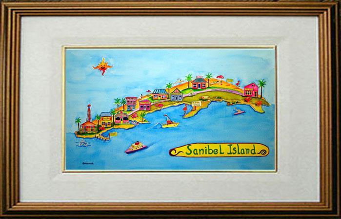 Map Of Sanibel Island Florida.Southwest Florida 4u